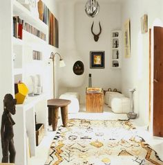 Moroccan Azilal rug... viva gallery of inspirational imagery and photos from around the world : Remodelista