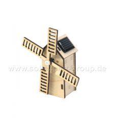 Mini solar windmill