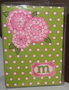 DVDCase as notepad holder- outside by K9lover - Cards and Paper Crafts at Splitcoaststampers
