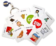 Visual Supports :: Visual Prompting Ring for Young Learners - Autism Shop