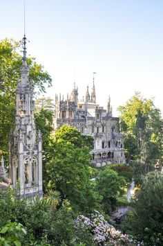 Sintra, Portugal: The Best Day Trip from Lisbon - - Hop on the train from Lisbon and visit the palaces of Sintra, including the colorful Pena Palace and the mysterious Quinta da Regaleira. Portugal Vacation, Portugal Travel Guide, Portugal Trip, Best Places In Portugal, Visit Portugal, Spain And Portugal, Oh The Places You'll Go, Places To Travel, Day Trips From Lisbon