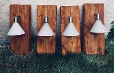 NINASIMON - Betonlampe - Wandleuchte - Altholz Ceiling Lights, Sign, Lighting, Pendant, Google, Home Decor, House Entrance, Diy Ideas For Home, Homemade Home Decor