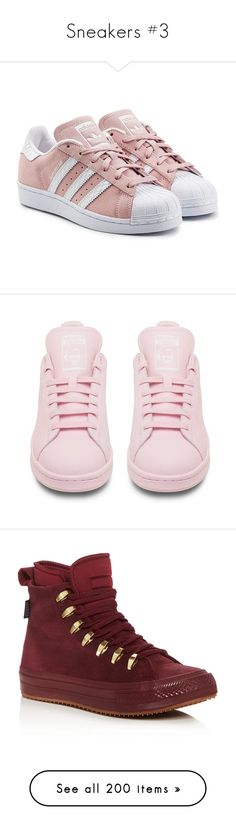 """""""Sneakers #3"""" by cecebvb ❤ liked on Polyvore featuring shoes, sneakers, pink, shoes - sneakers, zapatos, multicolored, colorful sneakers, multi color shoes, pink suede shoes and suede shoes"""