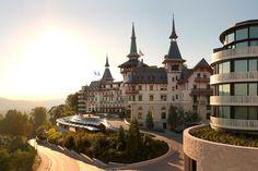The Dolder Grand in Zurich, Switzerland City Resort, Green Zone, Grand Hotel, Zurich, Alps, Environment, Mansions, Luxury, House Styles