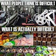 You can't exercise your way out of a bad diet, unfortunately.