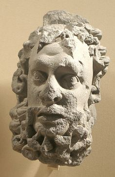 Head of a Bearded Male Figure, ca. The Metropolitan Museum of Art, New York. Gift of Steven Kossak, The Kronos Collections, 1981 Ancient Romans, Ancient Art, Ancient History, Ancient Greek, Art Roman, Middle Eastern Art, Fresh Hair, Greek Art, Male Figure