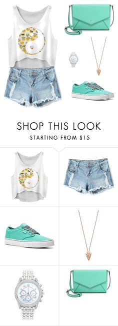 """""""Untitled #44"""" by aldinna69 ❤ liked on Polyvore featuring Vans, Pamela Love, Lane Bryant, Kate Spade, women's clothing, women, female, woman, misses and juniors"""