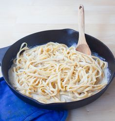 This luxuriously creamy vegan pasta recipe is soy-free, nut-free, egg-free,