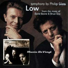 """New vinyl collaboration from Bowie, Phillip Glass, and Brian Eno -""""Symphony Low"""""""