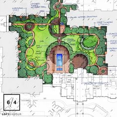 Designing with ovals and radii this week for a large pool amenity courtyard...it's a departure from our usual but we're always up for a new challenge...be ever evolving...