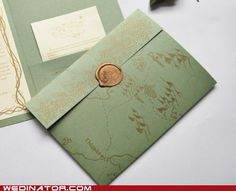 Not All Who Wander Are Lost... Middle Earth on envelopes!!! LOVE!!!