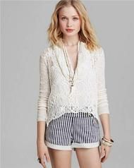 Free People Just Like the Cowl High-low Sweater Size S