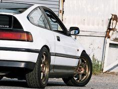 1989 Honda CRX Tail #CRX #Honda #Rvinyl =========================== http://www.rvinyl.com/Honda-Accessories.html