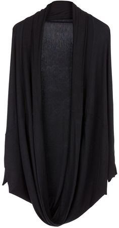 b08fe5494cec CUE SH003 Oversized Cardigan For Women-Black