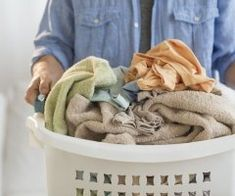 Add Hygge Elements to Your Cleaning Routine Doing Laundry, Laundry Hacks, Laundry Room, Laundry Pedestal, Laundry Appliances, Front Load Washer, Household Chores, Plastic Laundry Basket, Cleaning