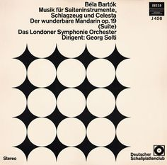 Bartók Album Cover by Josef Albers (1936)