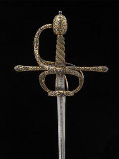 Sword  1590-1625  The Victoria & Albert Museum