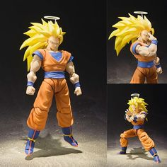 S.H.Figuarts Super Saiyan 3 Son Goku from Dragon Ball Z [IN STOCK]  $109 AUD (FREE standard parcel post to anywhere in Australia) Now available in stock from: https://www.figurecentral.com.au/products/s-h-figuarts-super-saiyan-3-son-goku-from-dragon-ball-z-pre-order?variant=35562565313  #shfiguarts #songoku #dragonball #bandai #figurecentral