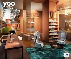 Philippe Starck, do Yoo Studio, assina essas poltronas e mais peças exclusivas do One Sixty