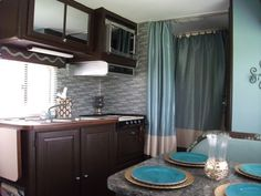 class c rv remodel | DIY Glam RV Remodeled 1986 Winnebago .... This is our winne.. it could ...