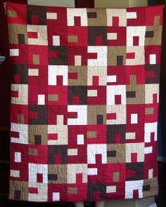 Katy's Quilt by SarahMikk, via Flickr http://sdmikke.blogspot.com/2011/08/katys-quilt.html#
