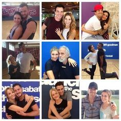 Janel & Artem Antonio & Allison Bethany & Mark Michael & Whitney Tommy & Emma Alfonso & Cheryl Lea & Val Jonathan & Peta Sadie & Mark on This Monday on Dancing with the star  Switch up