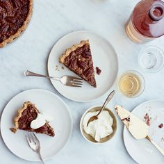 This best-ever Brown Butter Pecan Pie with Espresso Dates recipe gets flavor from brewed espresso, Lyle's Golden Syrup, toasty pecans and more. Get the recipe from Food & Wine.