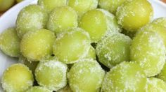 Wine Marinated Frozen Grapes | Grapes from California