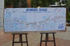 Daman Sales Workshop. Check out the awesome finished product, which brilliantly shows the similarities between summiting peaks and achieving sales targets  https://www.facebook.com/engagemeconsulting/photos/pb.359055937511843.-2207520000.1407826066./619703601447074/?type=3&theater