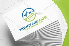 Mountain Logo by REDVY on @creativemarket