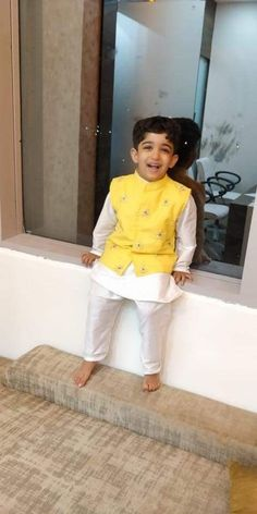 Mom And Son Outfits, Toddler Outfits, Boy Outfits, Kids Indian Wear, Kids Ethnic Wear, Boys Kurta Design, Kids Frocks Design, Kids Wear Boys, Baby Boys