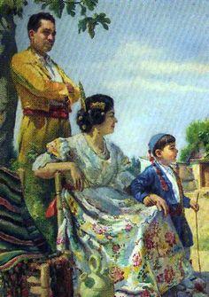 Valencianas pintadas francisco soria aedo granada 1898 - Pintor valenciano ...
