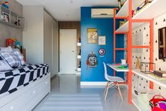 Orange is the best colour for bring happiness to a kid's bedroom! Discover more inspirations with Circu Magical Furniture, go to: circu.net #ADDesignShow2019 #adshow #adshow19 #addesignshow #architecturaldigest