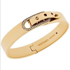 Shop Women's Michael Kors Yellow size OS Bracelets at a discounted price at Poshmark. Description: IT is brand new authentic with tag, comes with brown pouch. Trendy Jewelry, Cute Jewelry, Jewelery, Silver Jewelry, Jewelry Accessories, Fashion Bracelets, Bangle Bracelets, Bangles, Necklaces