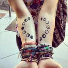 girl cute bracelets dress beautiful hippie boho moon draw tattoo bohemian woman tatto new moon hippy arm body art wiccan pagan wicca moon tattoo moon cycle daisyshanti
