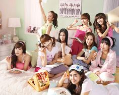 After the success of Nobody by the Wonder Girls, Girls' Generation followed up with an equally catchy tune called Gee in early 2009.