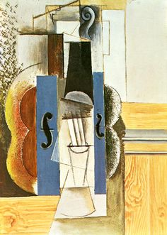 Pablo Picasso - Synthetische Kubisme