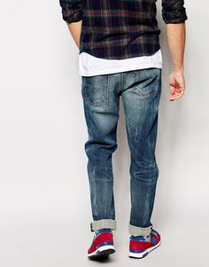 0ffef143b35 Image 2 of Levi s Jeans 522 Slim Tapered Fit Chambers Mid Blasted Wash Levis  Jeans