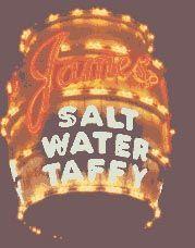 American Sign Museum  Jame's Salt Water Taffey