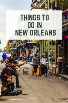 If you're in New Orleans for only a few days make sure to check out these spots and take some tours around this amazing city! Enjoy the city! Stuff To Do, Things To Do, Digital Nomad, New Orleans, Times Square, Places To Visit, Street View, Tours, City
