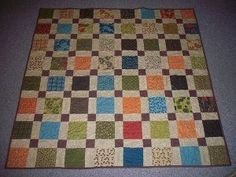 Magically Self Sashing Disappearing Nine Patch Quilt