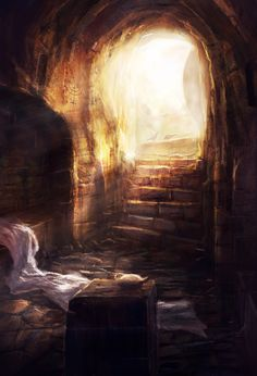 resurrection of Jesus Christ our Lord Christian Artwork, Christian Images, Pictures Of Jesus Christ, Bible Pictures, Image Jesus, Spiritual Pictures, Bible Illustrations, Jesus Painting, Christian Art