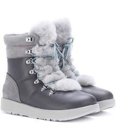 1dfc54619a221 UGG Viki Waterproof leather ankle boots.  ugg  shoes   Designer Shoes  Online