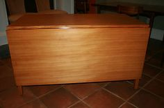 Drexel Precedent Drop Leaf Table Wormley Mid Century Modern   eBay