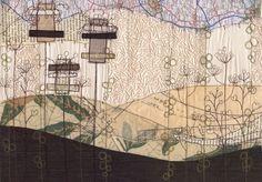 Sexta-feira Favorita: Anne Brooke - meios mistos Mapa Art