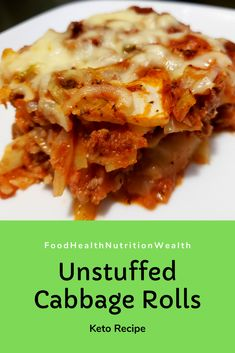 Low Carb Unstuffed Cabbage Rolls - Recipe Budget Video using leftover cabbage and bulk beef/pork blend! Cabbage Rolls Recipe, Cabbage Recipes, Keto On A Budget, Budget Meals, Easy Meal Prep, Easy Meals, Cabbage And Beef, Unstuffed Cabbage Rolls, Dinner For 2