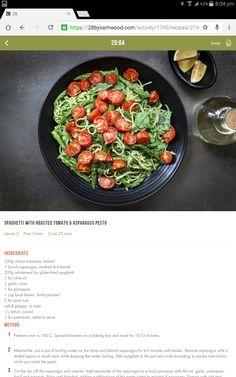 Pest spaghetti Healthy Meals, Healthy Food, Healthy Eating, Yummy Food, Healthy Recipes, 28 By Sam Wood, Fitness Foods, Interesting Recipes, Spaghetti Recipes