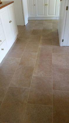 Our New Flooring. Bath Stone By Karndean