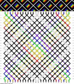 Muster # 55362, Streicher: 26 Zeilen: 26 Farben: 8