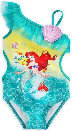 Super Cute! Little Mermaid Ariel Swimsuit 5T
